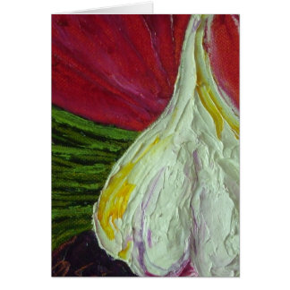 Garlic & Scalions Card