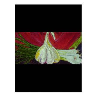 Garlic & Scalions Postcard