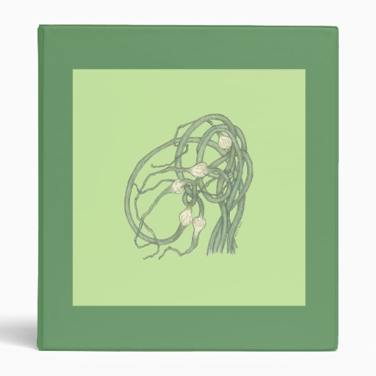 Garlic Scapes (Allium sativa) Binder