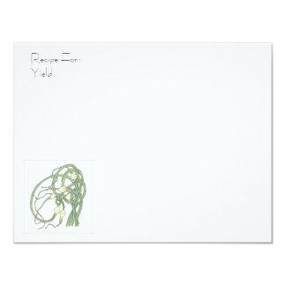 Garlic Scapes Recipe Card