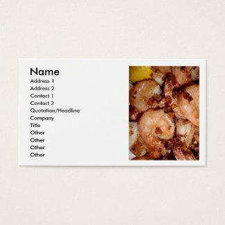 Garlic Shrimp Business Card