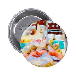 Garlic Specialty Items Pinback Button