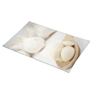 Garlic still life placemat