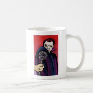 Garlic Wards off the Vampire's Bite Mugs