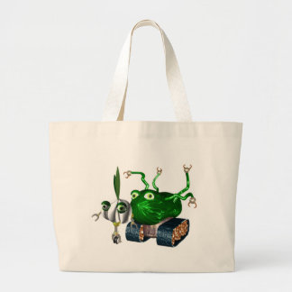 GarlicBot CucumberBot Canvas Bags