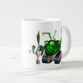 GarlicBot CucumberBot Giant Coffee Mug