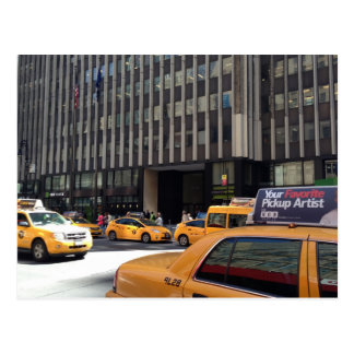 Garment District Taxis Postcards