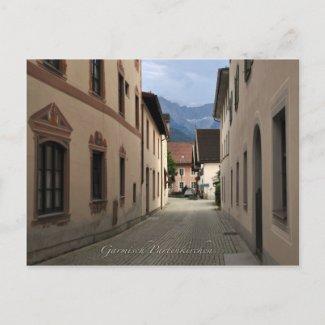 Garmisch-Partenkirchen postcard postcard