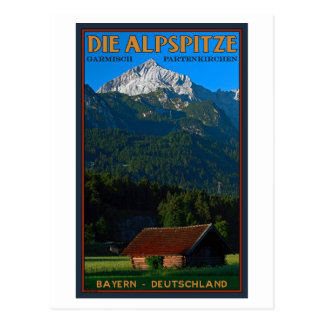Garmisch - The Alpspitze Postcard