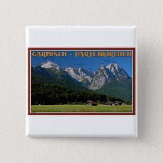Garmisch - The Zugspitze and Alpspitze Button