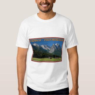 Garmisch - The Zugspitze and Alpspitze T Shirt