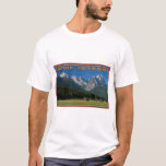 Garmisch - The Zugspitze and Alpspitze T-Shirt
