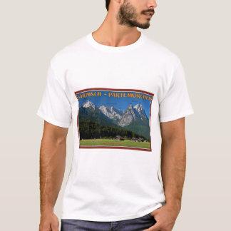 Garmisch - The Zugspitze and Alpspitze T-Shirt