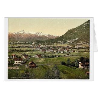 Garmisch visión general vin de Baviera superior Tarjetas
