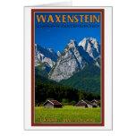 Garmisch - Waxenstein Greeting Card