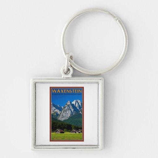 Garmisch - Waxenstein Key Chains