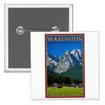Garmisch - Waxenstein Pinback Button