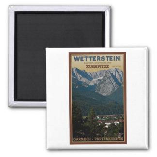 Garmisch - Zugspitze above Town Magnet