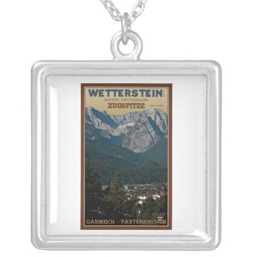 Garmisch - Zugspitze sobre ciudad Collar Plateado