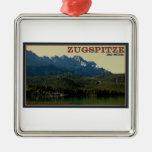 Garmisch - Zugspitze sobre el Eibsee Ornamentos Para Reyes Magos