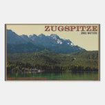 Garmisch - Zugspitze sobre el Eibsee Rectangular Altavoces