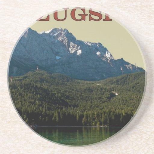 Garmisch - Zugspitze sobre el Eibsee Posavaso Para Bebida