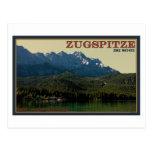Garmisch - Zugspitze sobre el Eibsee Postales
