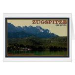 Garmisch - Zugspitze sobre el Eibsee Tarjetas
