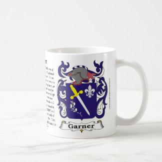 Garner Family Coat of Arms Mug
