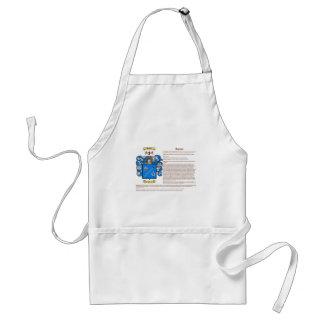 Garner (meaning) adult apron