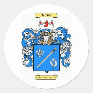 Garner Pegatina Redonda