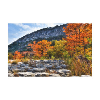 Garner State Park Stretched Canvas Print