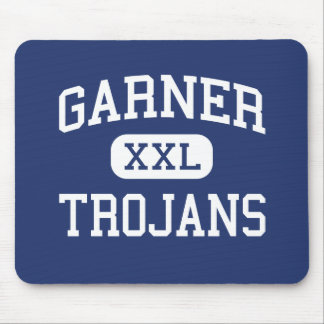 Garner - Trojans - High - Garner North Carolina Mouse Pad