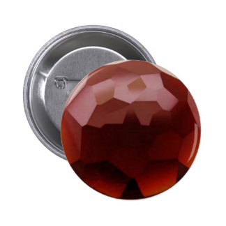 Garnet 01, January, Birthstone Pinback Button