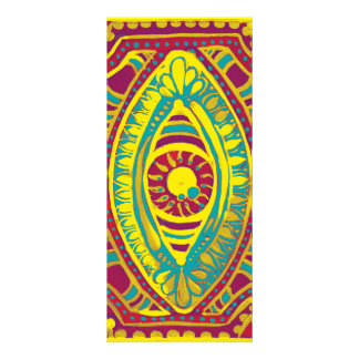 Garnet and Gold Rack Card