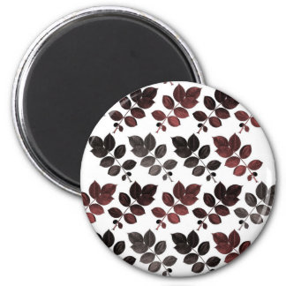 Garnet black leaves and magnet