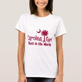 Garnet Carolina Girl Best in the World T-Shirt