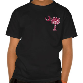Garnet Dots Pocket Palmetto Tee Shirts