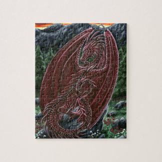 Garnet Dragon Puzzle