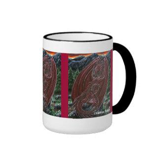 Garnet Dragon Wraparound Mug