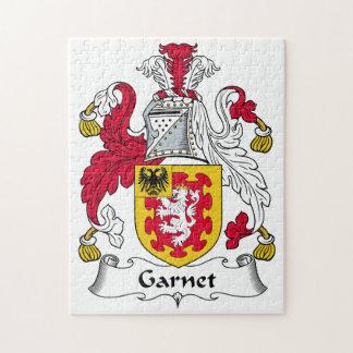 Garnet Family Crest Puzzle