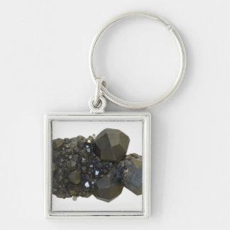 Garnet in Natural Form Keychains
