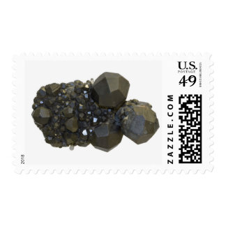Garnet in Natural Form Postage Stamp