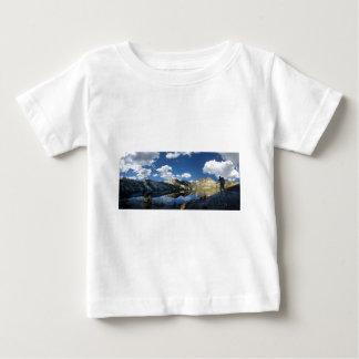 Garnet Lake and Banner Peak 2 - John Muir Trail Baby T-Shirt