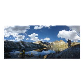 Garnet Lake and Banner Peak 2 - John Muir Trail Photo Print