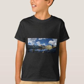 Garnet Lake and Banner Peak 2 - John Muir Trail T-Shirt