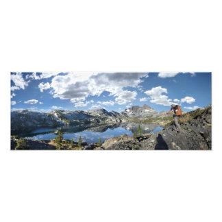 Garnet Lake and Banner Peak - John Muir Trail Photo Print