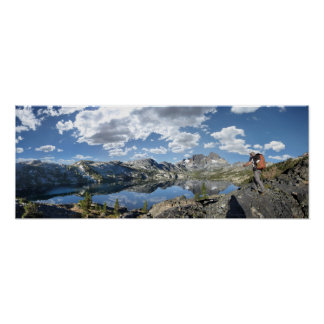 Garnet Lake and Banner Peak - John Muir Trail Poster