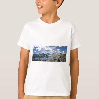 Garnet Lake and Banner Peak - John Muir Trail T-Shirt