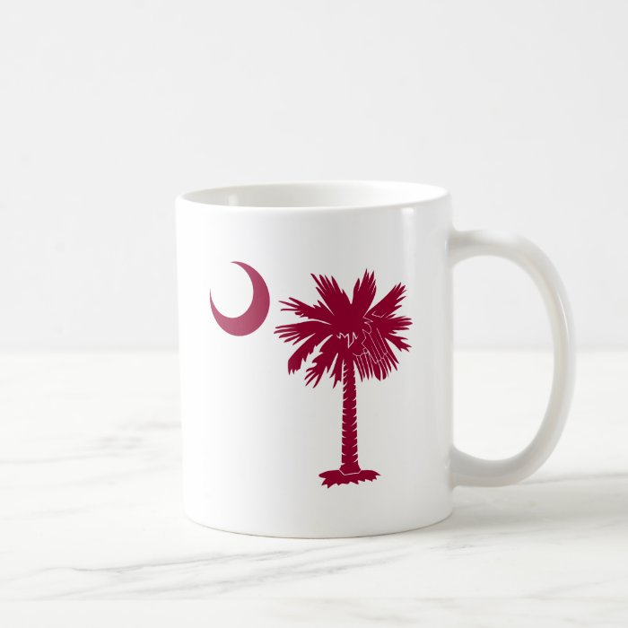 Garnet Palmetto Coffee Mug